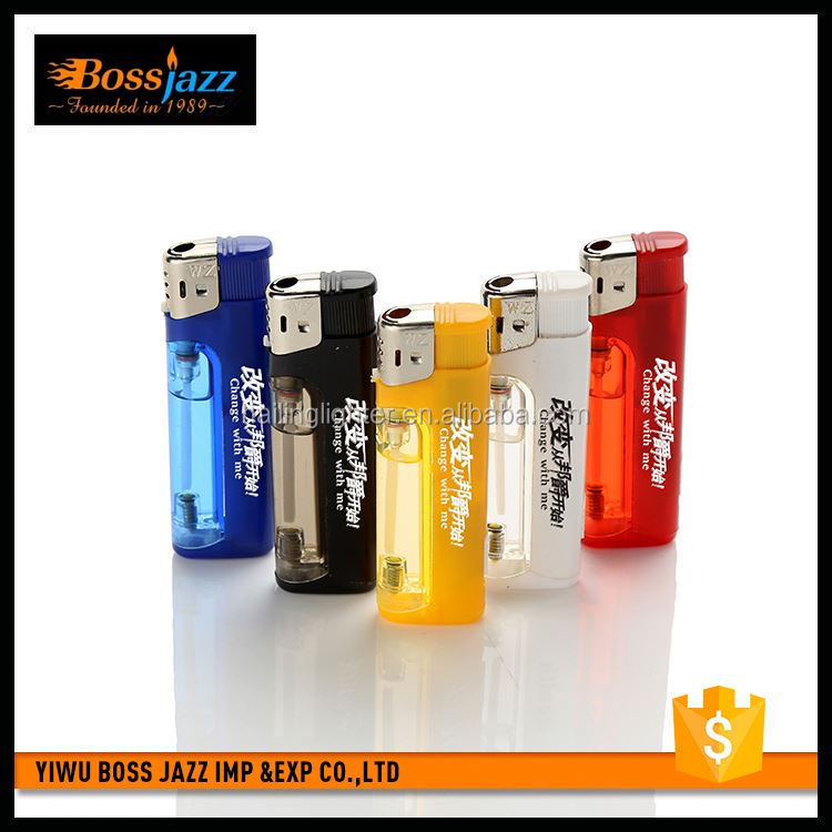 New product breathable recyclable rechargeable lighter with lamp