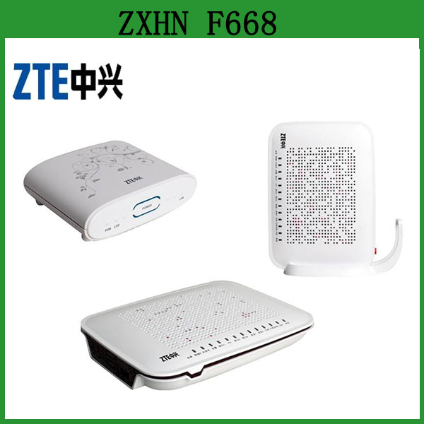 China Supplier ZTE ZXHN F668 GPON ONU