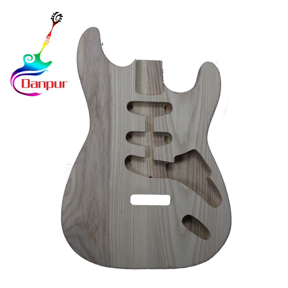 Danpur high quality solid wood electric guitar body unfinished
