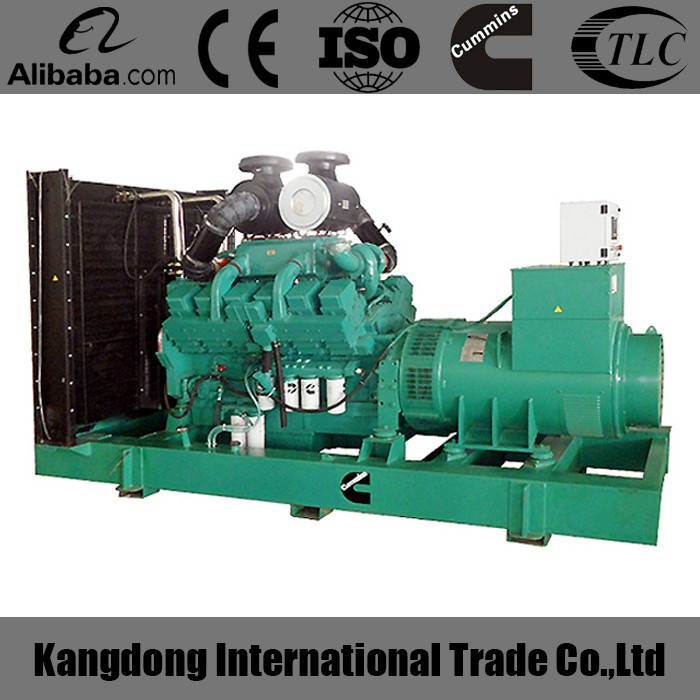 CE approved 1000kva China Gens For Project power plant