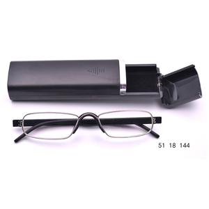 a68498623dc wholesale design optics folding reading glasses with light mini fashion  glasses folding reading glasses with case
