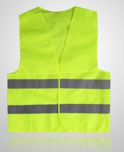 YJ-RV Hi Vis Wholesale High Visibility Airport Police Construction Security Reflective Safety Vest With Pockets Clothing