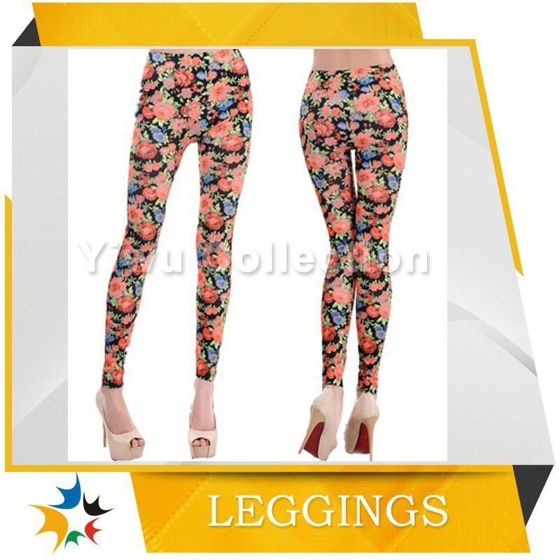 new design wholesale fashion leggings with fur
