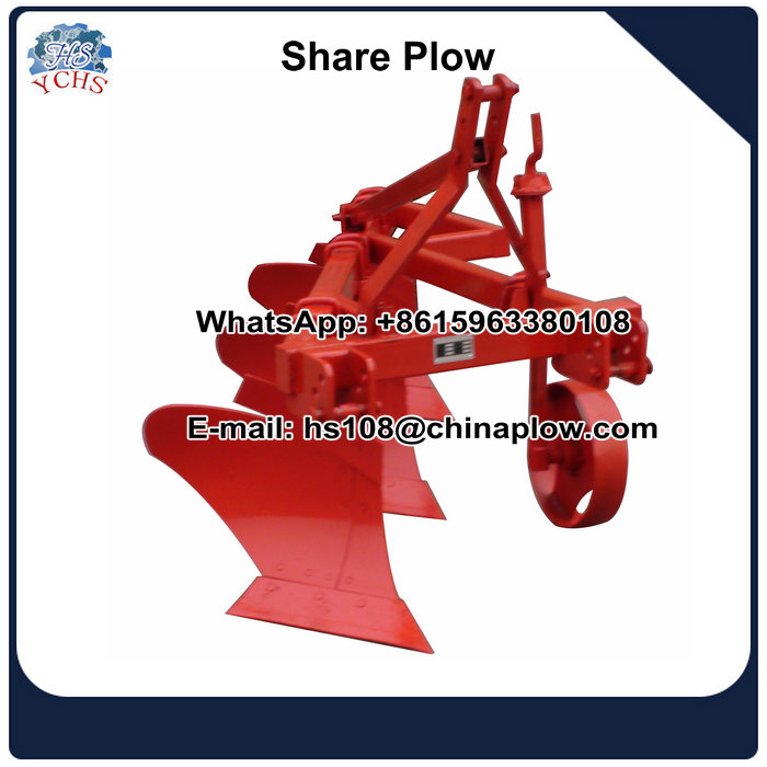 Farm implements tractor share plow made in China
