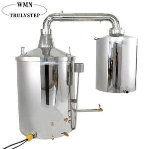 220L Double Layer Wine Making Machine, Alcohol Distillation Equipment