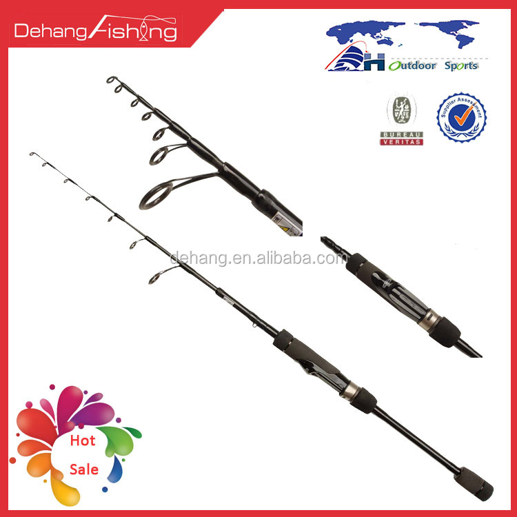 Telescope Spinning Lure Rod
