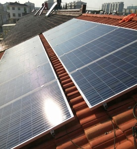 HD 5KW Solar Power Panel System Home Solar Energy System With Battery
