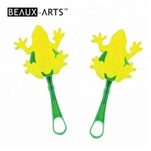 도매 Frog Image 폼 Plastic Handle Artist 페인트 Brush 대 한 Kids