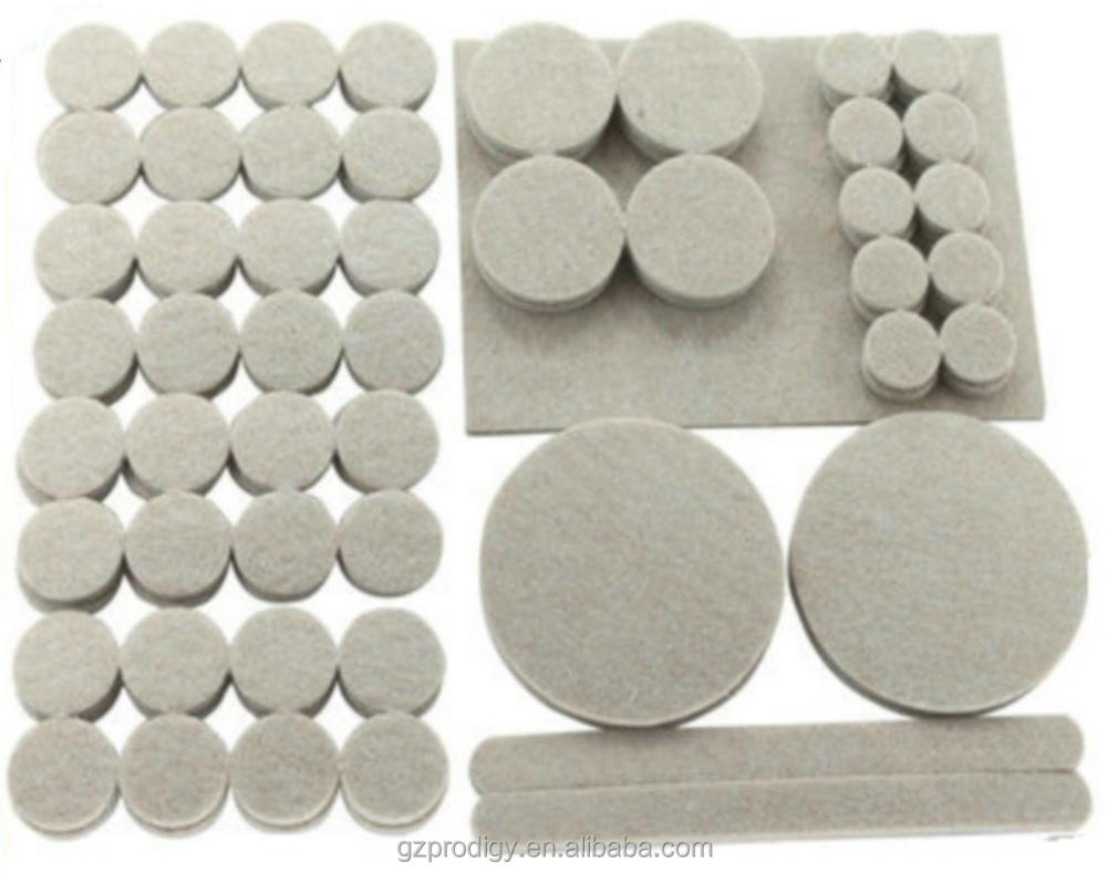118pk Self Adhesive Chair Leg Floor Protection Felt Pad Set 118pcs Product On Alibaba