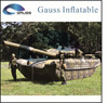 beat sale Inflatable military tank for Russia