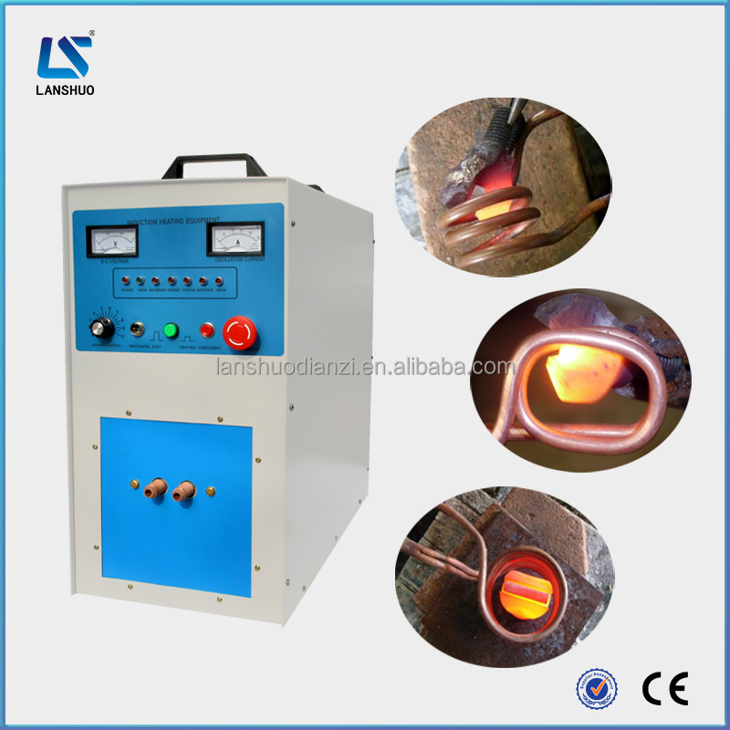 Electric induction brazing machine for brazing carbide tool tips