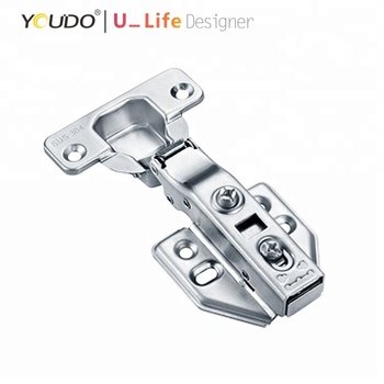 New Production Clip On Stainless Hydraulic Hinges For Kitchen Cabinet Door View Stainless Steel Hydraulic Hinges Youdo Product Details From Jieyang