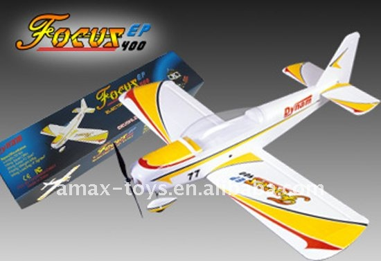 ep-focusep400 rc arf airplane