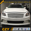 G35 W style FRP Car BodyKits for Infiniti G35 07-13