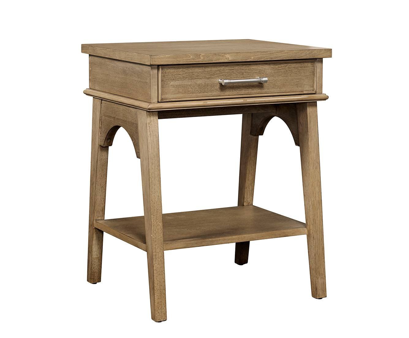 Stone & Leigh Chelsea Square Nightstand in French Toast