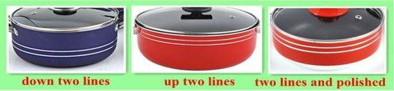 Fornecimento de fábrica top venda 11Pcs conjunto panelas de alumínio de cobre livre de óleo de cozinha de cerâmica pote e pan set com SS steamer