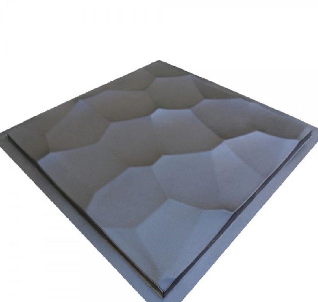 Shell Plastic Molds For 3 D Panels Plaster Wall Stone Form 3D Decor Wall Panels Art Decor Decorative Wall Tile Panels