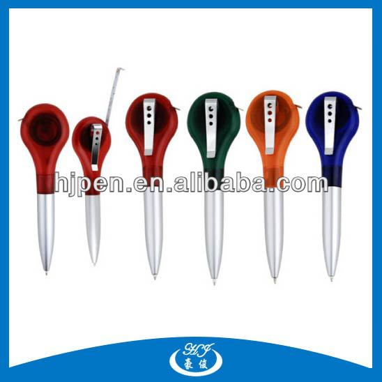 Mulfi-functional Customized Color and Logo Tape Measure With Ball Pen