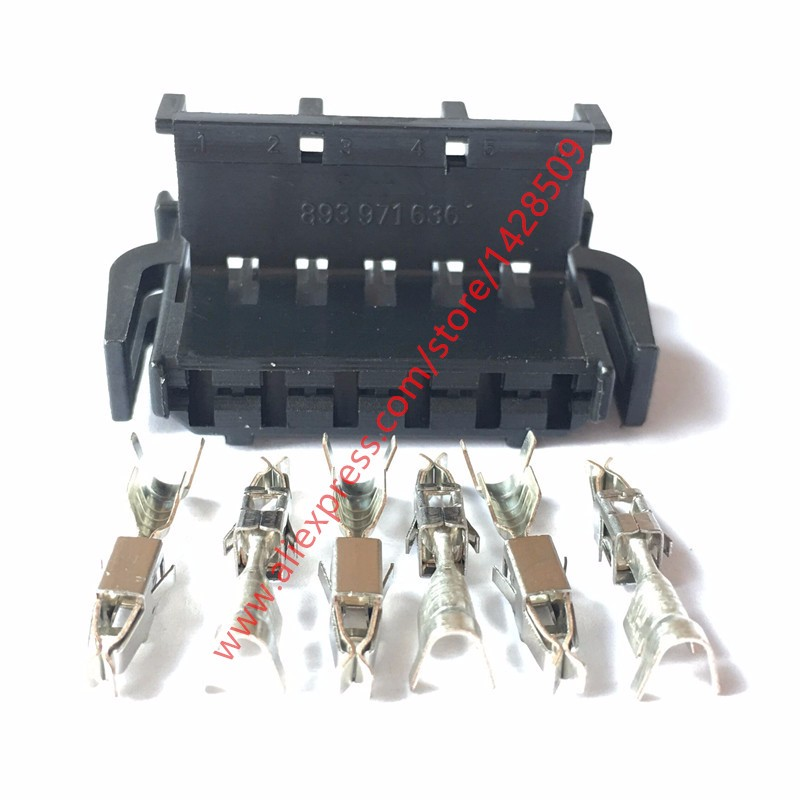 high quality pin wiring harness promotion shop for high quality 20 sets auto 6 ways 6 pin female harness connector wire connector