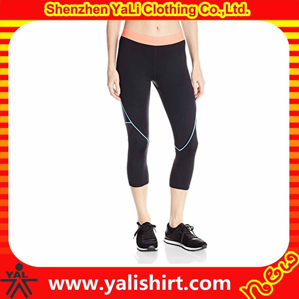2015 wholesale fashion comfortable nylon/spandex plain cheap tight seamless legging for women