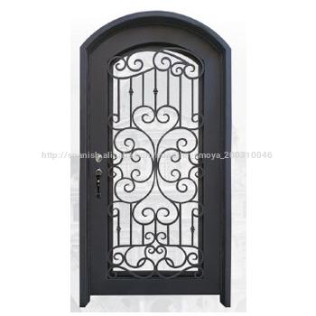 Ltimos dise os de puertas de hierro de seguridad frontal for Disenos de puertas de hierro