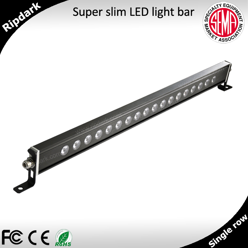Universal 36 Volt Led Light Bar Slim 20inch Cree Dot Bars