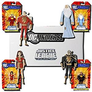 DC Universe Justice League Unlimited Exclusive Justice Guild Set of 4 Action Figures