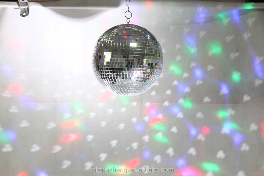 DJ/Stage/ home party supply hanging glass mirror disco ball motor available