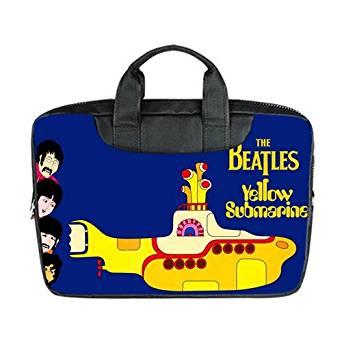 8aa029f7121505 JOJO Custom Laptop Bag Beatles Yellow Submarine Computer Handbags for 15 inch  Messenger Bag Office Easy