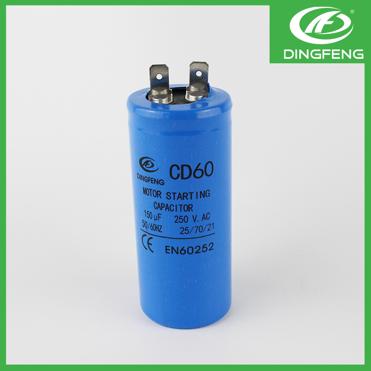 CD60 motor starting capacitor 200uf 250V CE approval 25/70/21