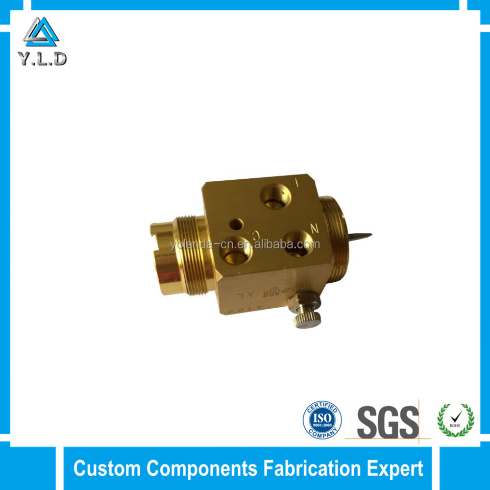 Fast Production YLD Custom Brass Machining Components For Electrical