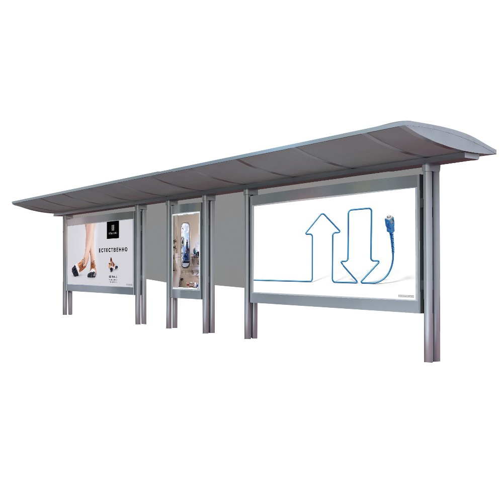 product-Advertising equipment bus shelter for sale metal bus shelter-YEROO-img