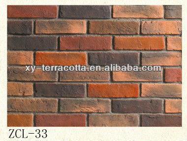Uomo fatto piastrelle decorative a parete( finto muro di mattoni pannello, decorativo ...