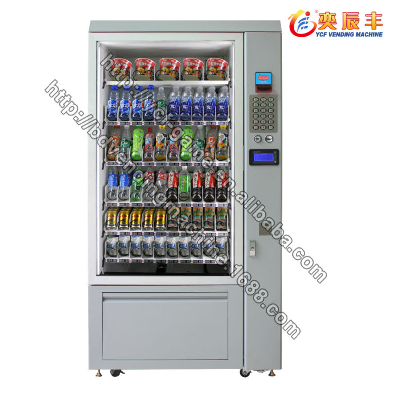 (YCF-VM007A-0610) New product 2014 candy vending machine for sale