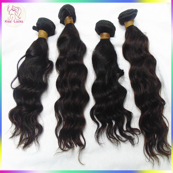 Outstanding Quality 100% human hair Virgin Filipino Jazzy Ocean wave remy hair weave Sew In Extensions Grade 10A