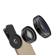 Profesional 0.45X Super Wide Angle 15X Mikro 2 In 1 <span class=keywords><strong>Lensa</strong></span> Kit Ponsel Smartphone Kamera <span class=keywords><strong>Lensa</strong></span> Kit