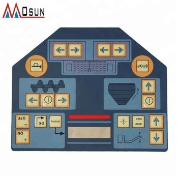 China Custom Diy Membrane Keyboard Overlay With 3m Adhesive - Buy Diy  Membrane Keyboard Overlay Product on Alibaba com