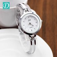 2016 New Luxury Watch Brand Silvery Jewelry Clasp Stainless Steel Ladies Watch