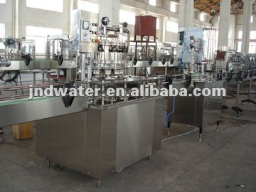 Canned beverage production line