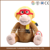 2016 new year items hot sale soft cuddle monkey toy for girl