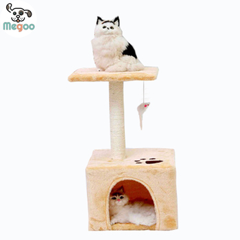 Square Bottom Cat Trees Scratching Post Furniture For Pet 30 60cm