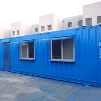 low cost 40 ft steel small mobile container house