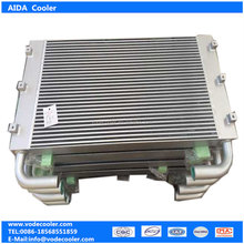 Customizable pipe cooler 53443 for CompAir air compressor