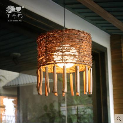 Wicker Pendant Ceiling Light Lamp Shades, Wicker Pendant Ceiling ...