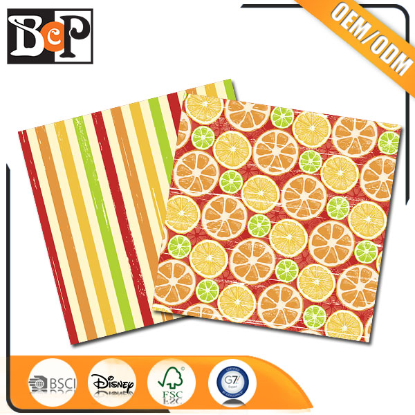 Unique design products beautiful style wrapping paper design with many type