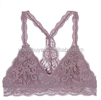 adefe79cbb1589 Bustier Floral Lace Crop Top Bralette Sheer Sexy Cami Tank Triangle ...