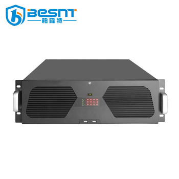 BESNT Germany high quality industrial 1080p P2P 4K WiFi 128CH POE NVR H.265 BS-N128K