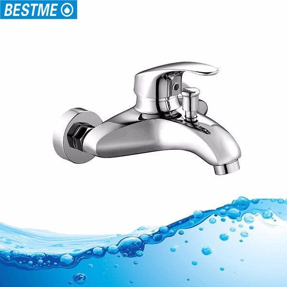 High quality bathroom wall mounted hot and cold water shower mixer tap