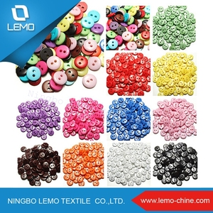 Lemo Multicolor 2 Holes Round Resin Buttons Sewing DIY Craft