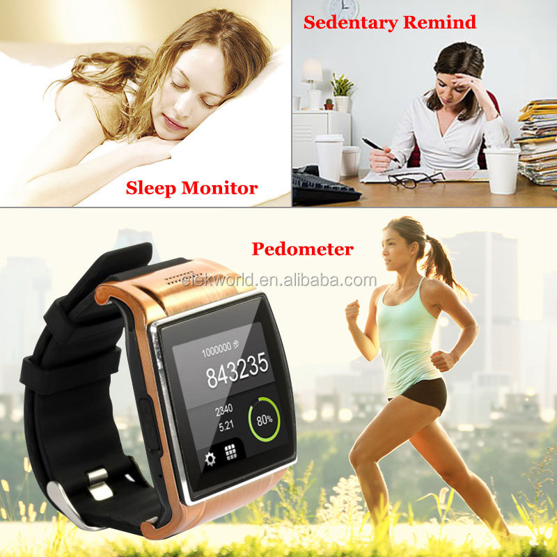 cheap products from china waterproof wrist watch mobile phone with Bluetooth and Camera
